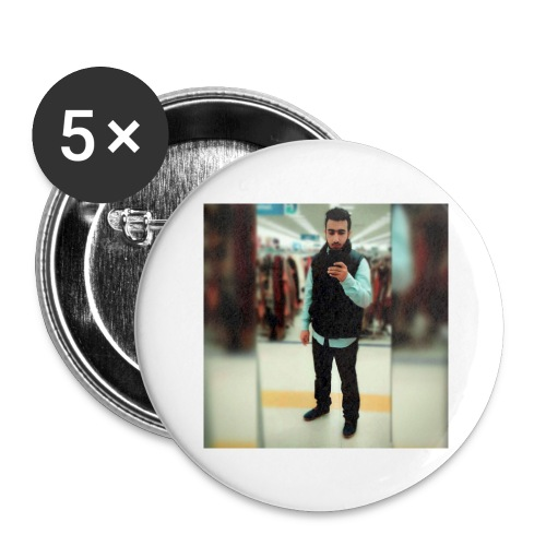Ahmad Roza - Buttons large 2.2'' (5-pack)
