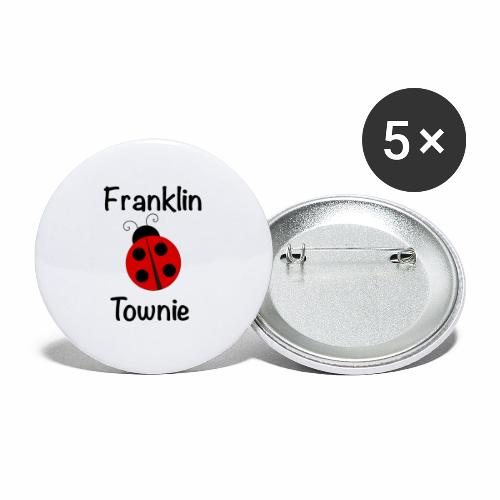 Franklin Townie Ladybug - Buttons large 2.2'' (5-pack)