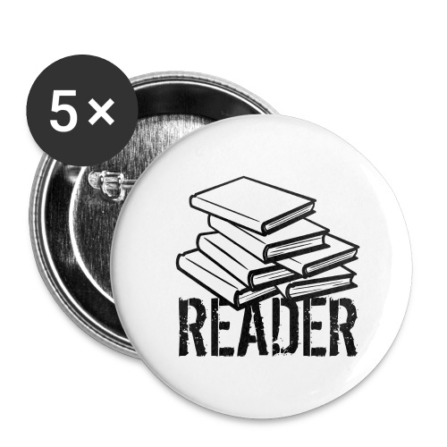 reader - Buttons large 2.2'' (5-pack)