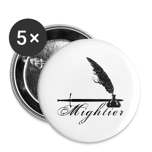 mightier - Buttons large 2.2'' (5-pack)