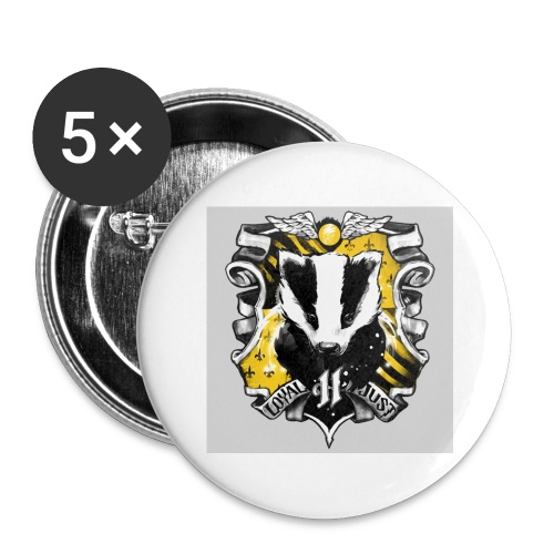 hufflepuff - Buttons large 2.2'' (5-pack)