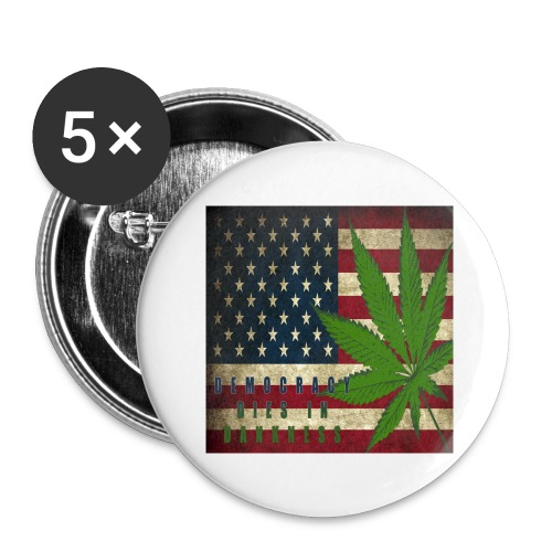 Political humor - Buttons large 2.2'' (5-pack)