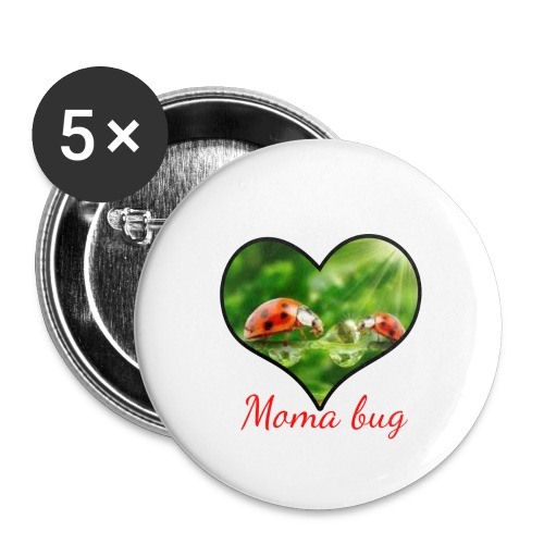 moma bug - Buttons large 2.2'' (5-pack)