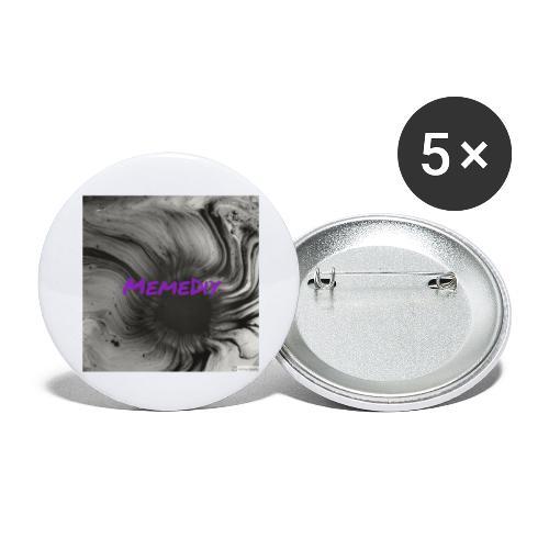 MemeDiy - Buttons large 2.2'' (5-pack)