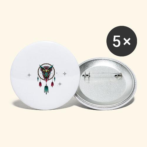 DREAM BIG OWL - Buttons large 2.2'' (5-pack)