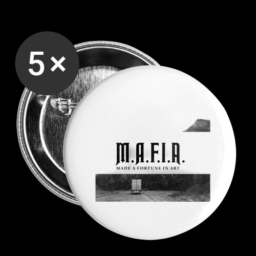 Road to Success(Mafia) - Buttons large 2.2'' (5-pack)