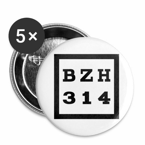 BZH314 Games Big Logo - Buttons large 2.2'' (5-pack)