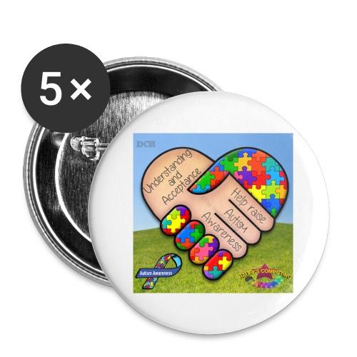 autpro1 - Buttons large 2.2'' (5-pack)