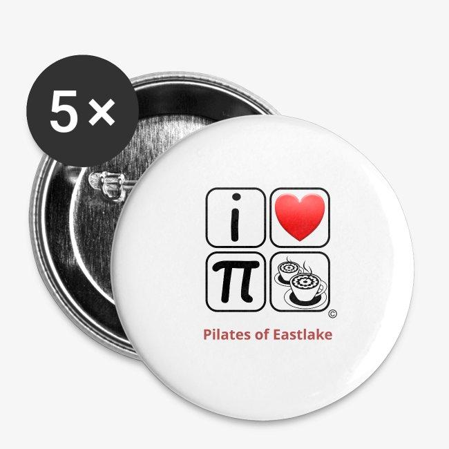 I love Pilates black and white