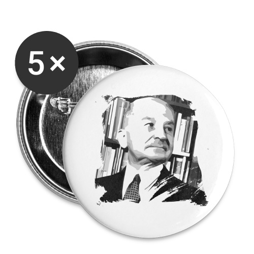 Ludwig von Mises Libertarian - Buttons large 2.2'' (5-pack)