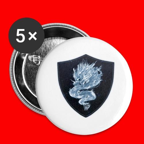XMidniteDragonX - Buttons large 2.2'' (5-pack)