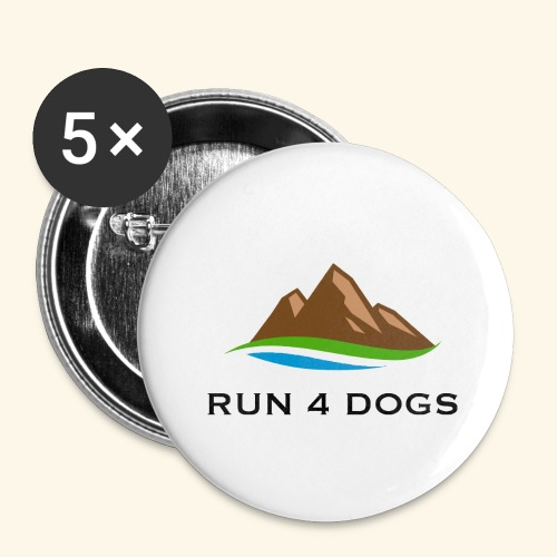 RFD 2018 - Buttons large 2.2'' (5-pack)
