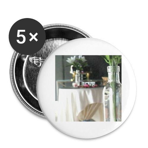 Spread the Love! - Buttons large 2.2'' (5-pack)