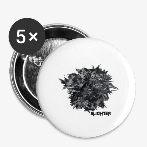 Glitched Orb - Buttons large 2.2'' (5-pack)