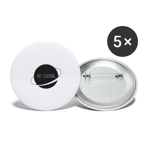 360° Clothing - Buttons large 2.2'' (5-pack)