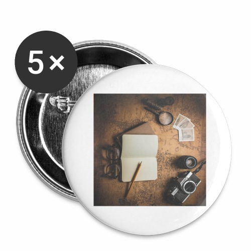 Traveller - Buttons large 2.2'' (5-pack)