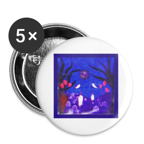 Funeral - Buttons large 2.2'' (5-pack)