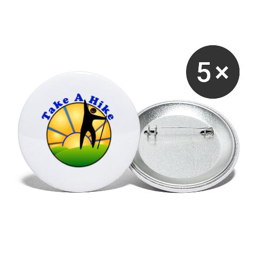 Take A Hike - Buttons large 2.2'' (5-pack)
