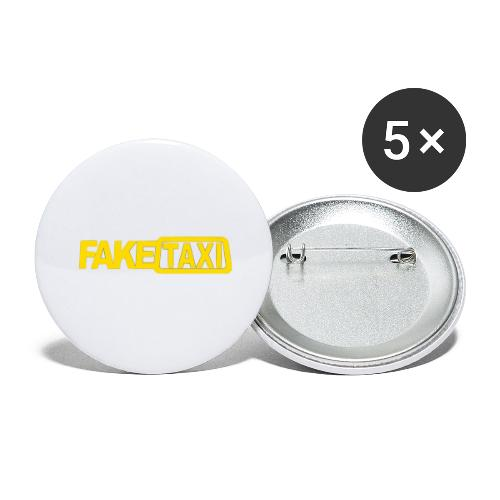 FAKE TAXI Duffle Bag - Buttons large 2.2'' (5-pack)