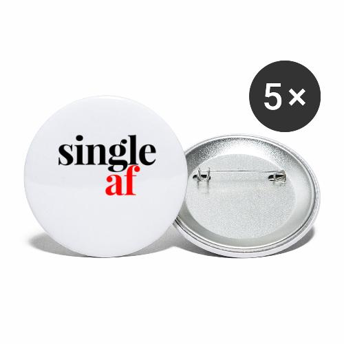 SINGLE AF - Buttons large 2.2'' (5-pack)