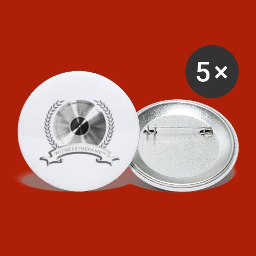 WITNESSTHEFAME PLATINUM SEAL - Buttons large 2.2'' (5-pack)