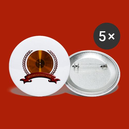 WITNESSTHEFAME SEAL - Buttons large 2.2'' (5-pack)