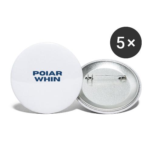 PoIarwhin Updated - Buttons large 2.2'' (5-pack)