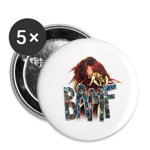 phoenix png - Buttons large 2.2'' (5-pack)