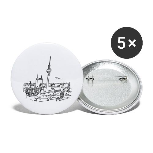 Panorama of Berlin - Buttons large 2.2'' (5-pack)