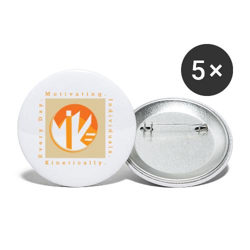 M.I.K.E Motivating Individuals - Buttons large 2.2'' (5-pack)