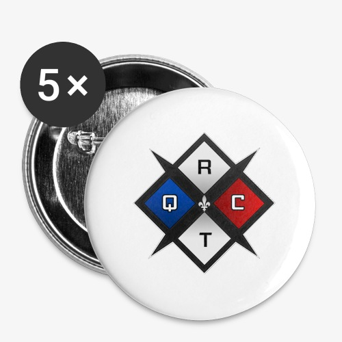 RTQC Logo - Buttons large 2.2'' (5-pack)