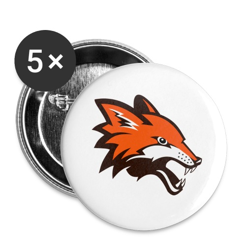 The Australian Devil - Buttons large 2.2'' (5-pack)