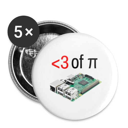 Life of Raspberry Pi 2 - Buttons large 2.2'' (5-pack)
