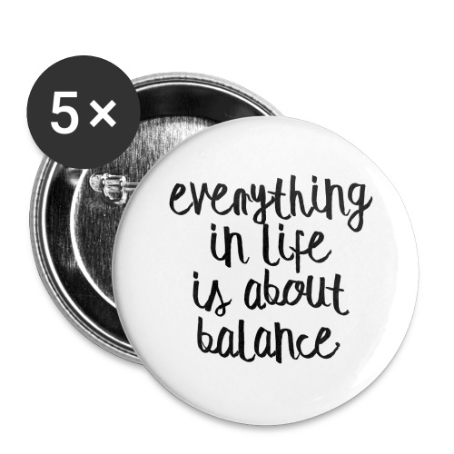 Balance - Buttons large 2.2'' (5-pack)