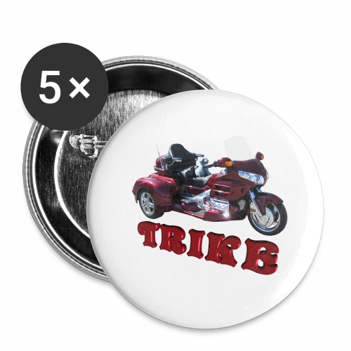Trike - Buttons large 2.2'' (5-pack)