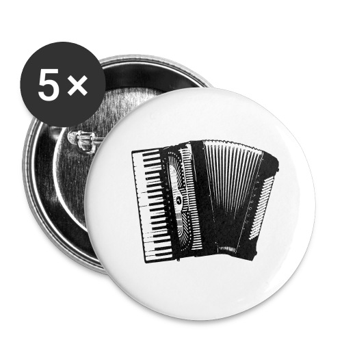 Accordian - Buttons large 2.2'' (5-pack)