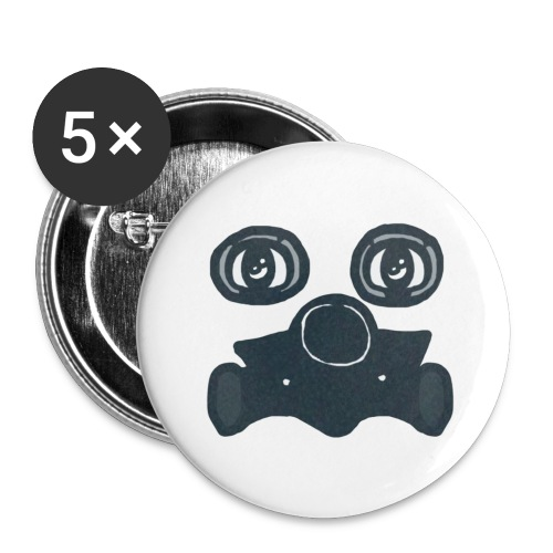 Toxic - Buttons large 2.2'' (5-pack)