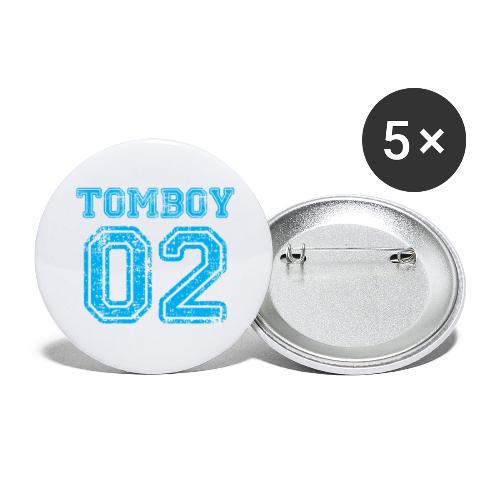 Tomboy02 png - Buttons large 2.2'' (5-pack)