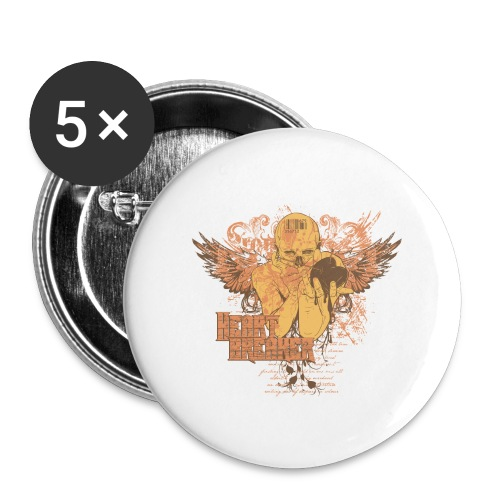 teetemplate54 - Buttons large 2.2'' (5-pack)