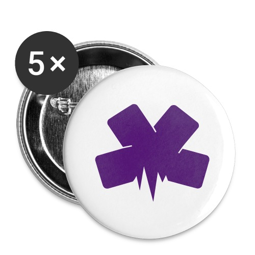 Tote Bag - Buttons large 2.2'' (5-pack)