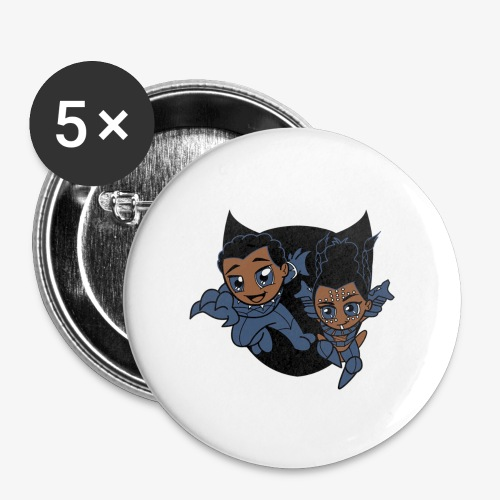 ReckLess Youngster Superhero - Buttons large 2.2'' (5-pack)