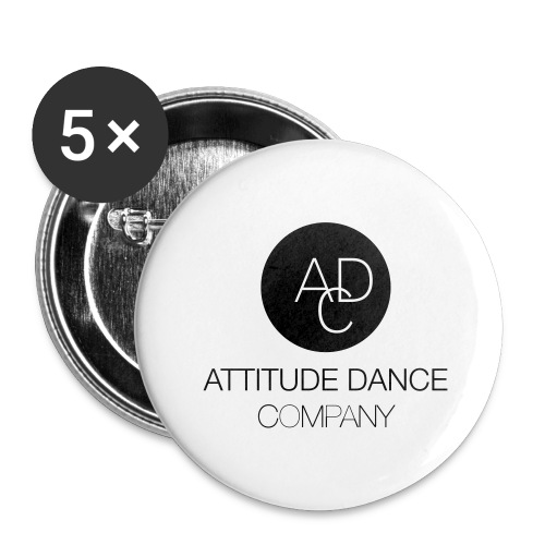 ADC Logo - Buttons large 2.2'' (5-pack)