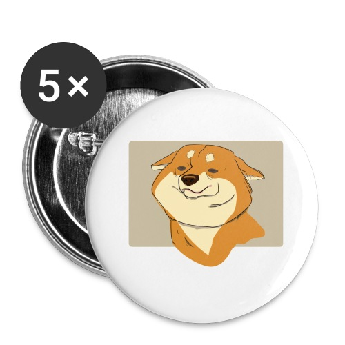 cute puppy 2018-2019 - Buttons large 2.2'' (5-pack)