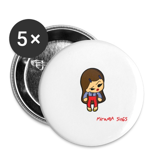Miranda Sings Haters Back Off - Buttons large 2.2'' (5-pack)
