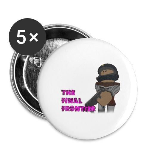The Final Frontier Sports Items - Buttons large 2.2'' (5-pack)