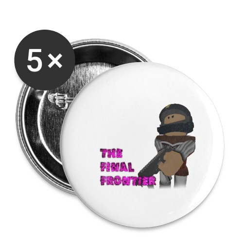 The Final Frontier - Buttons large 2.2'' (5-pack)