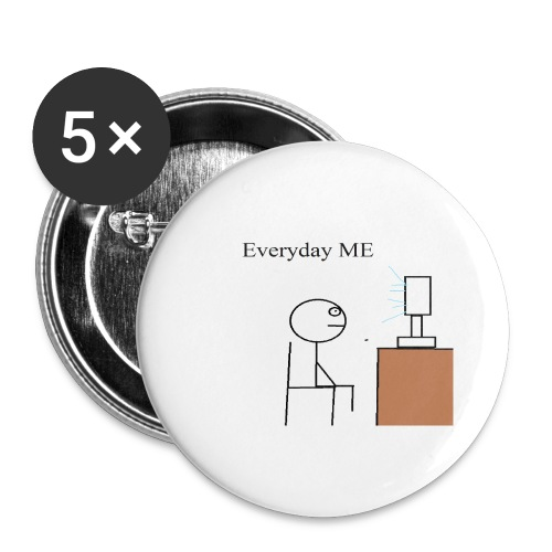 Everyday ME - Buttons large 2.2'' (5-pack)