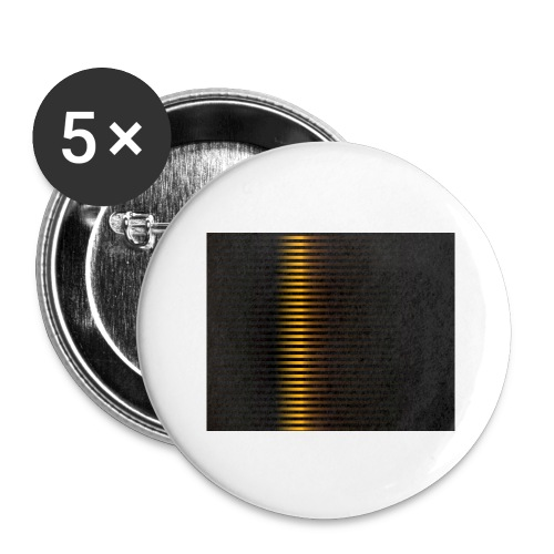 Gold Color Best Merch ExtremeRapp - Buttons large 2.2'' (5-pack)