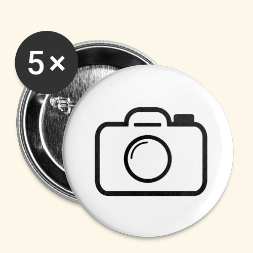 Camera - Buttons large 2.2'' (5-pack)