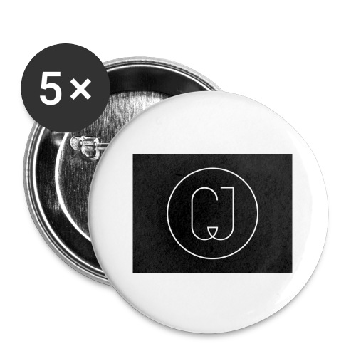 CJ - Buttons large 2.2'' (5-pack)